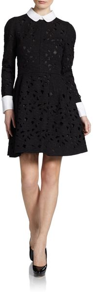 Jill Stuart Cutout Lace Dress - Lyst