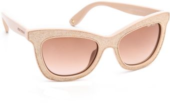 Jimmy Choo Flash Sunglasses - Lyst