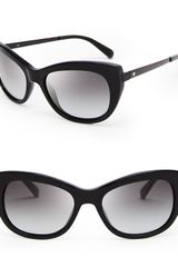 Kate Spade Jayna Cat Eye Sunglasses - Lyst