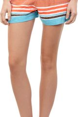 Lemlem Striped Shorts - Lyst