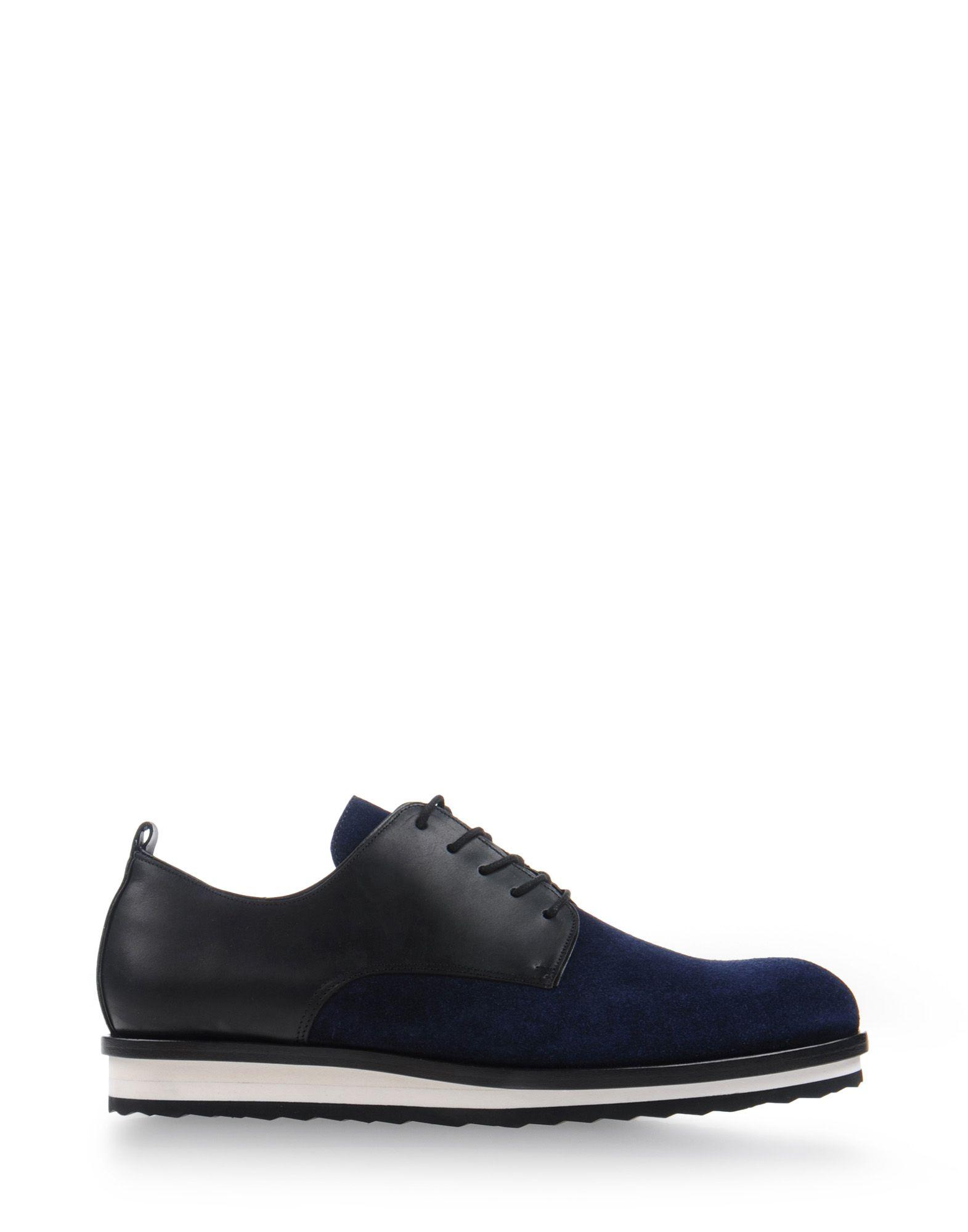pierre hardy laced shoes in blue for men dark blue lyst. Black Bedroom Furniture Sets. Home Design Ideas
