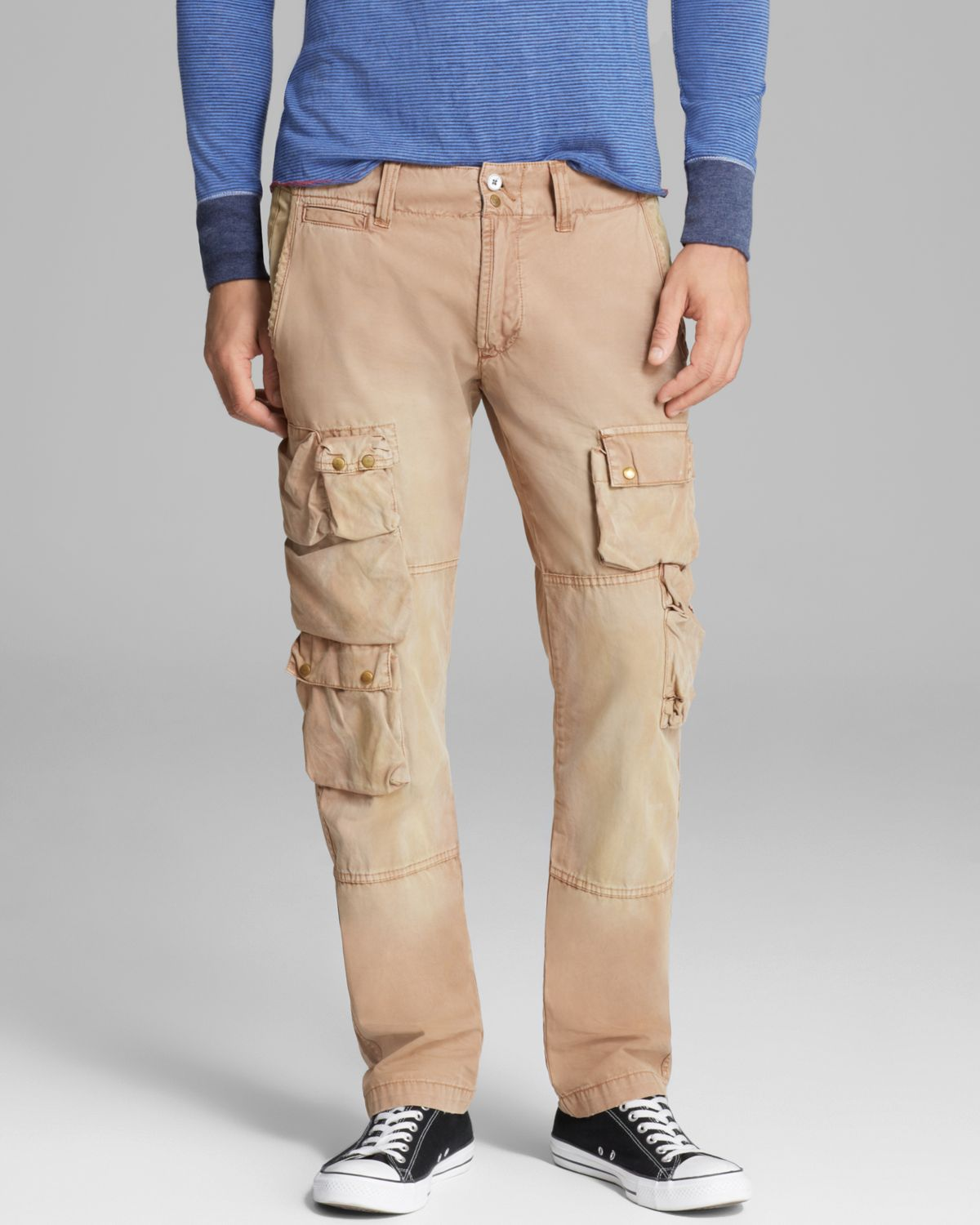 Prps Utilitarian Cargo Pants in Brown for Men | Lyst