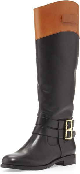 Rachel Zoe Grayson Riding Boot Blackhoney - Lyst