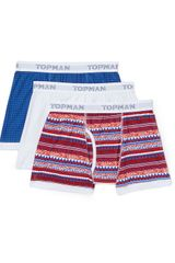 Topman Bright Pattern Pack Underwear - Lyst