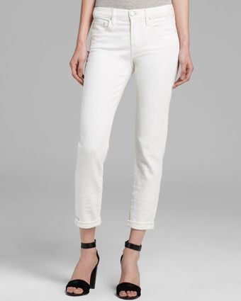 Vince Jeans Relaxed Rolled in Soft White - Lyst