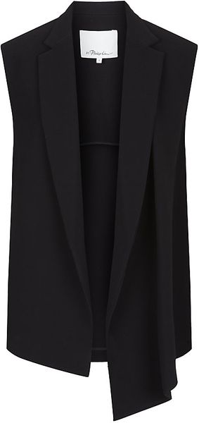 3.1 Phillip Lim Draped Vest - Lyst