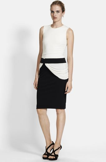Alexander McQueen Interlock Crepe Jersey Dress - Lyst