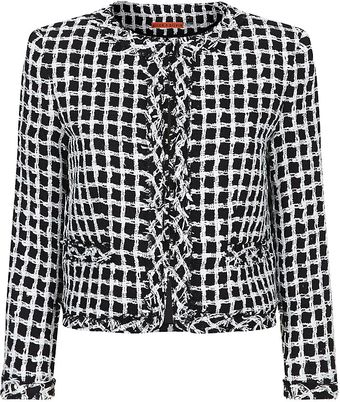 Alice + Olivia Kidman Box Jacket - Lyst