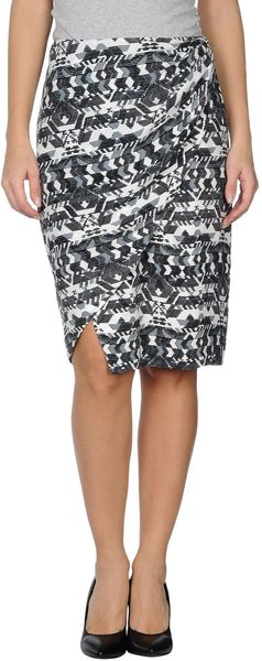 Antik Batik Knee Length Skirt - Lyst
