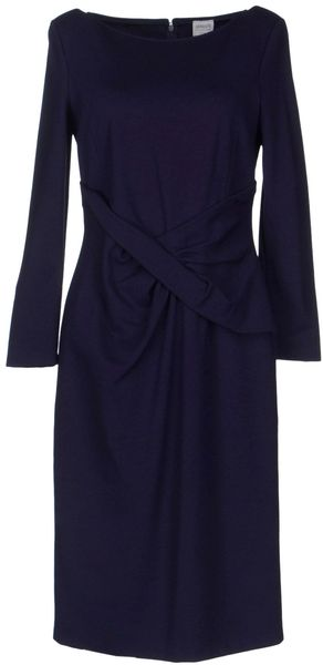 Armani Kneelength Dress - Lyst
