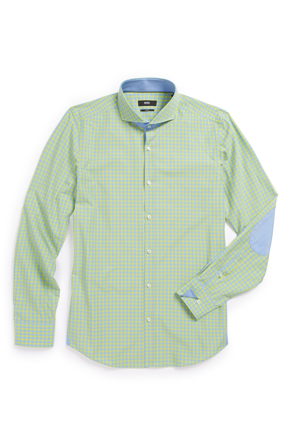 Boss By Hugo Boss Javen Slim Fit Dress Shirt In Green For