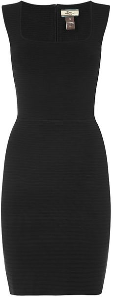 Issa Ribbed Bodycon Dress - Lyst