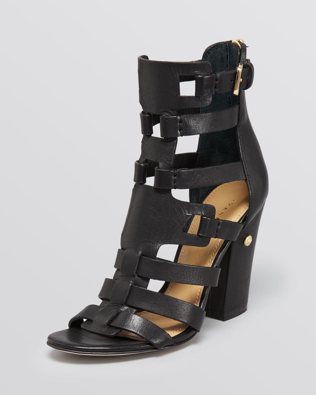 ivanka sandals gladiator high heel in black lyst