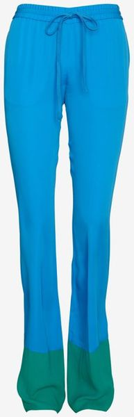 Joseph Colorblock Silk Lounge Pants - Lyst