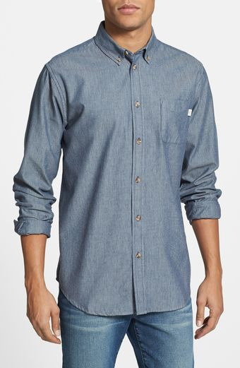 Obey Wise Man Stripe Shirt - Lyst