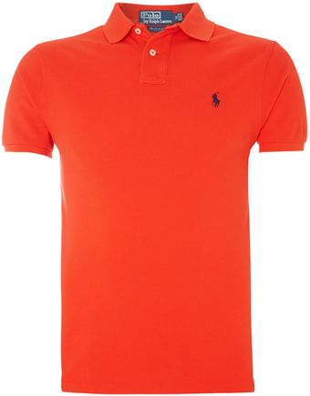 Polo Ralph Lauren Classic Slim Fit Polo - Lyst