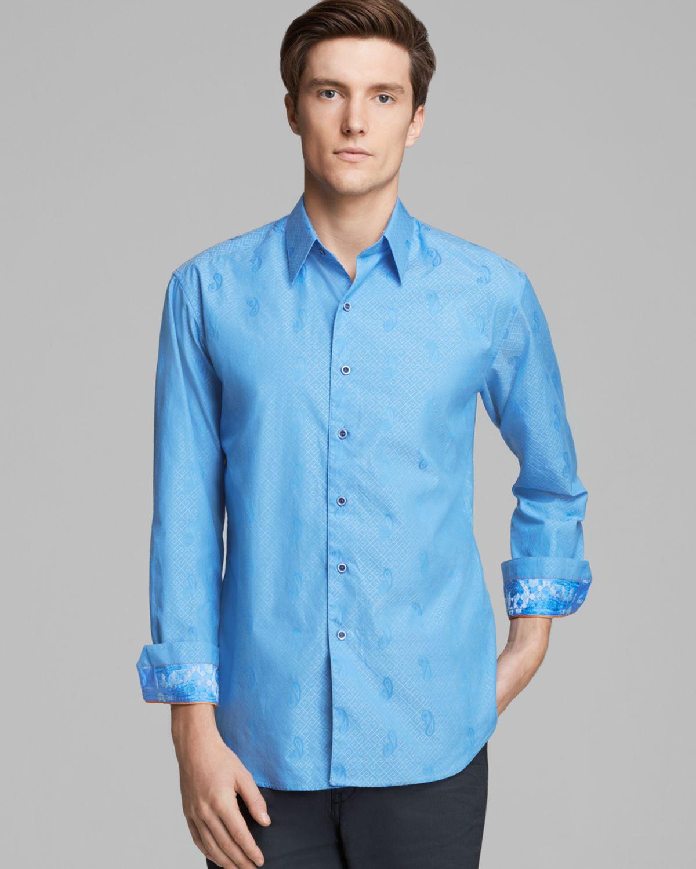 Robert graham flytrap paisley woven sport shirt classic for Robert graham sport shirt