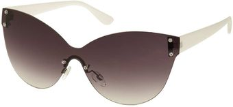 Topshop Stingray Frameless Cateye Sunglasses - Lyst