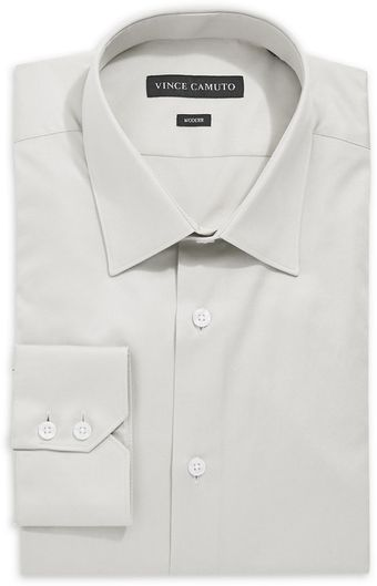 Vince Camuto Solid Dress Shirt - Lyst