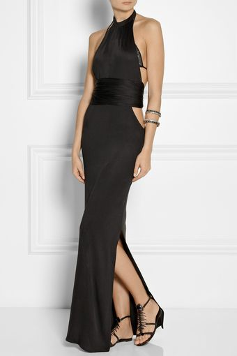 Agent Provocateur Terese Silkjersey Maxi Dress - Lyst