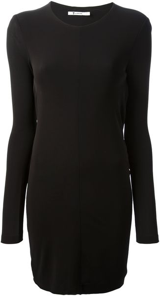 Alexander Wang Round Neck Dress - Lyst