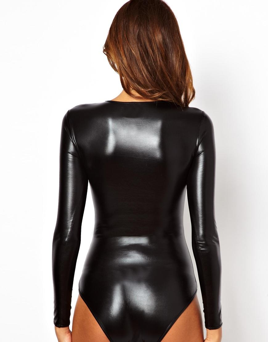 AQ/AQ Spectrum Bodysuit in Black - Lyst