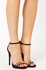 Asos High Life Heeled Sandals - Lyst
