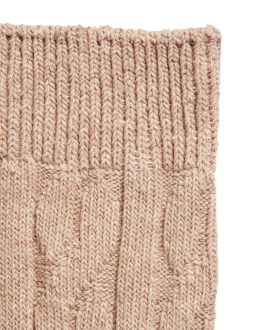 Lyst - Asos 3 Pack Cable Knit Boot Socks in Natural for Men