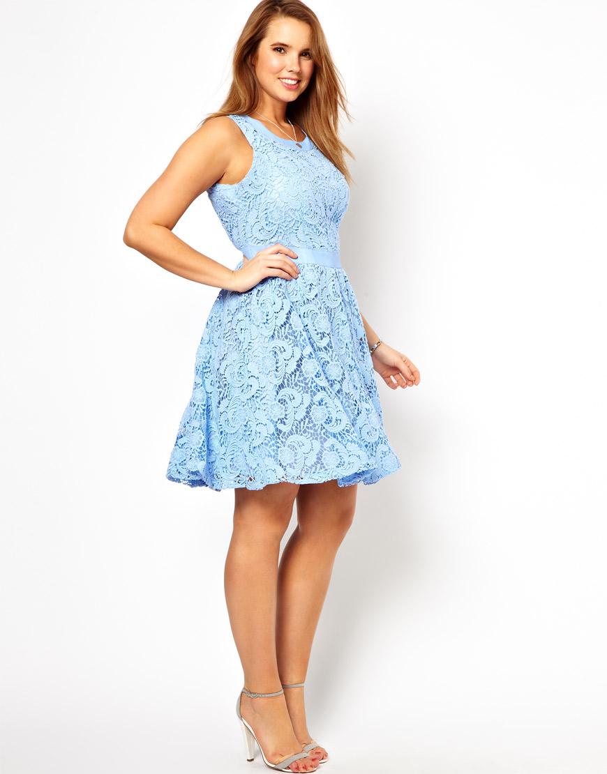 Karen millen lace dress asos curve