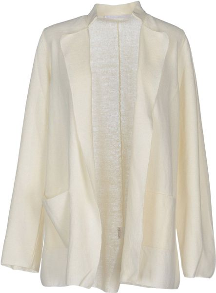 Bp Cardigan in White (Ivory)