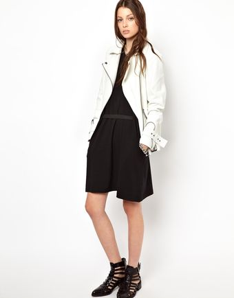 Cheap Monday Belted Mini Dress - Lyst