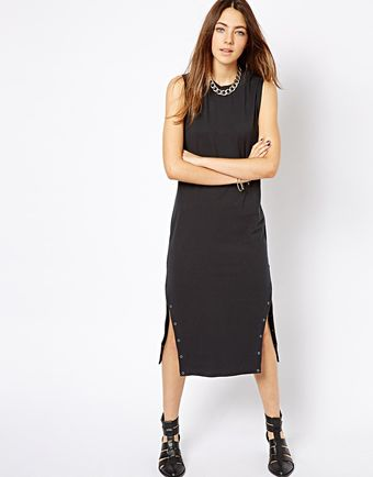 Cheap Monday Biker Dress - Lyst