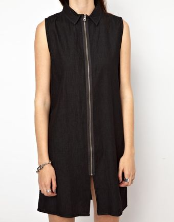Cheap Monday Zip Front Dress - Lyst