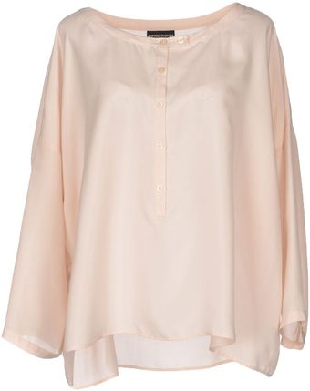 Emporio Armani Shirt with 3/4 length Sleeves - Lyst