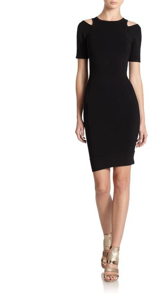 French Connection Crepe Bandage Dress - Lyst