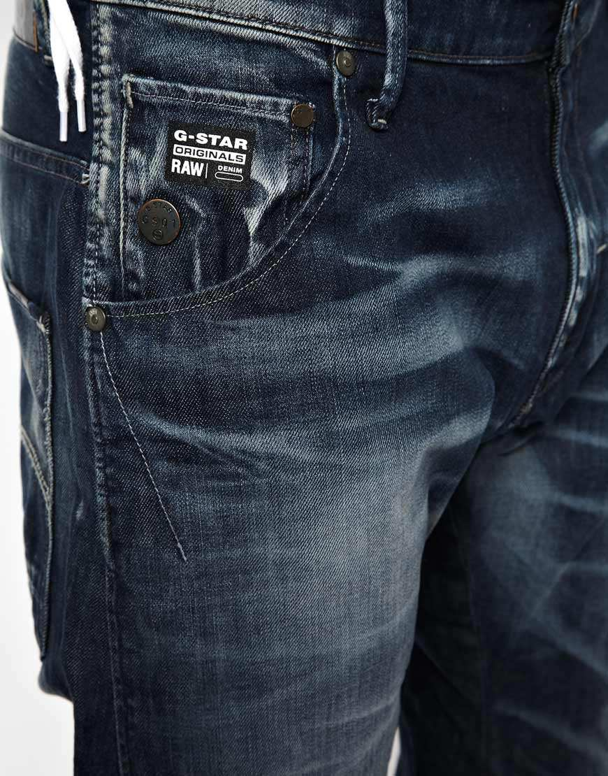 Lyst G Star Raw G Star Jeans Arc 3d Loose Tapered Dark