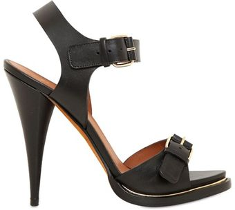 Givenchy 120mm Leather Buckled Sandals - Lyst