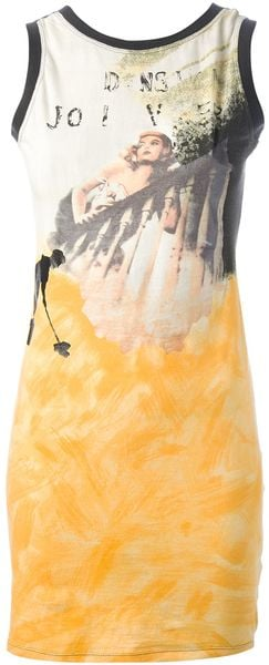 Jean Paul Gaultier  Lescalier Printed Dress - Lyst