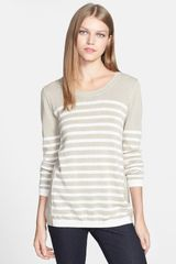 Nydj Stripe Colorblock Sweater - Lyst