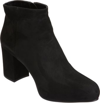 Prada Hidden Platform Ankle Boot - Lyst