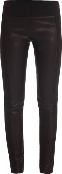 Rag & Bone Glassgow Leather Panel Legging - Lyst