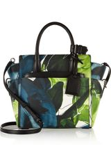 Reed Krakoff Atlantique Mini Floralprint Leather Tote - Lyst