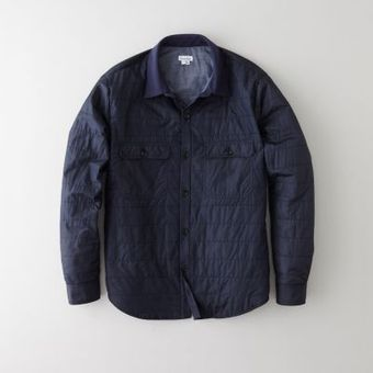 Steven Alan Palmer Padded Shirt Jacket - Lyst