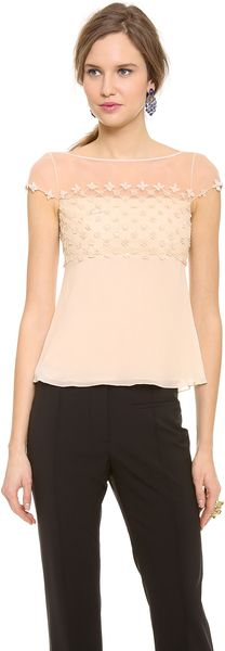 Temperley London Forget Me Not Top - Lyst