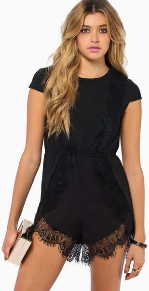 Tobi Wilde Heart Cant Leave You Romper - Lyst