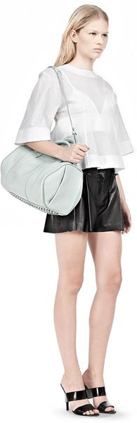 Alexander Wang Rocco in Pebbled Peppermint with Zinc - Lyst