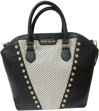 Betsey Johnson Tuxedo Junction PVC Tote Bag - Lyst