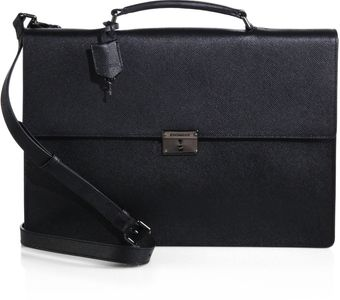 Burberry Cannock Leather Brief - Lyst