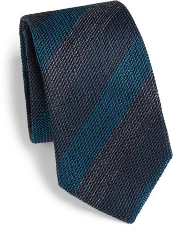 Burberry Knit Striped Tie - Lyst