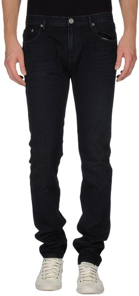 Burberry Brit Denim Pants - Lyst